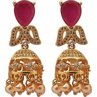 SthriElite Fashion Designing Alloy Jhumki Earring