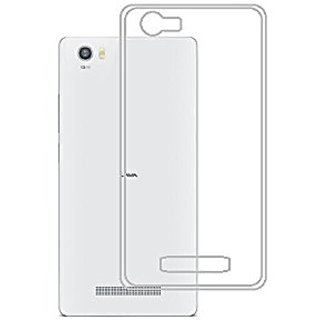 official photos 4315f 4f4ef Buy Lava X10 Back Cover Crystal Clear Case By Vkr Cases Online ...