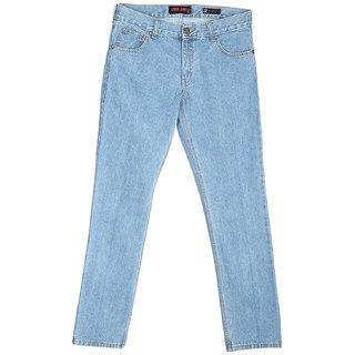London Jeans Men's Stretchable Slim Fit Blue Jeans