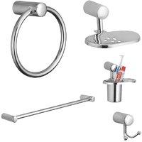 Kamal Esteem Stainless Steel Bathroom (Set Of 5)