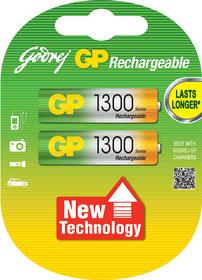 Godrej GP AA 1300 NiMH Rechargeable Battery - 069T2M2B