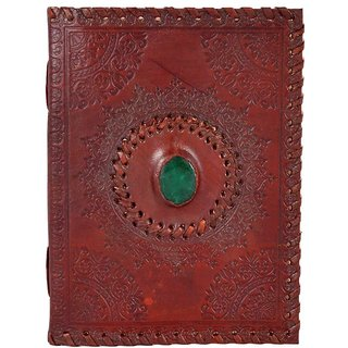 Leather  Stone Emboss Notebook