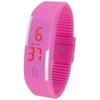 New Braslet LED watches for Boys,girls Kids(PINK)