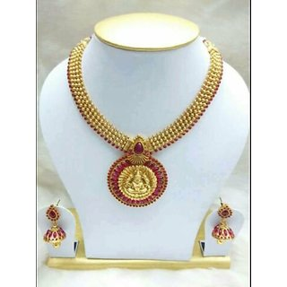 womens pendent neckless with earings