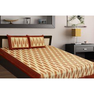 Chokor Jaipuri Cotton Double Bedsheet (R2S102)