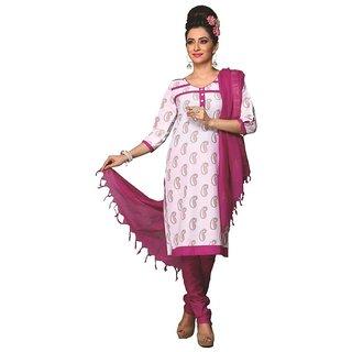 Minu Suits Multicolor Cotton Printed Unstitched Salwar Suit (SouthSpecial1008  )