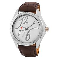 Regime Men Stylish Leather Watch For Casual  Formal Purpose