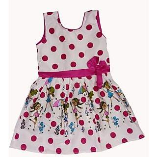 e5df8482e Buy Kids dresses baby clothing Girls Polka Dot printed cotton frock ...