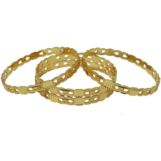 Czar Fashionable  Gorgeous Bangle Set-BANGLE227.2.8