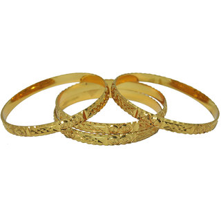 Czar Fashionable  Gorgeous Bangle Set -BANGLE3354.2.8