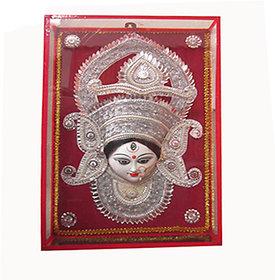 Beautifully Handcrafted  Goddess Durga  face mask