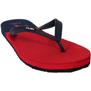 54f20f7b7b3 Buy FUEL MEN M02 NAVY RED FLIP FLOP Online   ₹299 from ShopClues