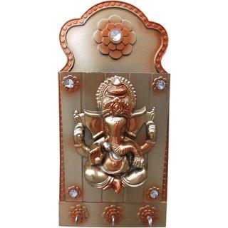 Arts  Kraft Sri Ganesh Letter + Key Holder