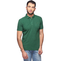 Goat Solid MenS T-Shirt Slim Fit Polo Neck (GMPO001GN)