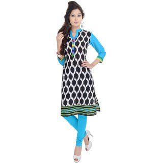 RajLaxmi Jaipuri Printed Preety Look Girls Cotton Kurti