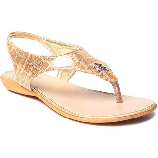 MSC Women's Gold Sandals