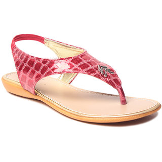 Msc WomenS-Red-Synthetic-Flats (MSC-9-235-FLATS-RED)