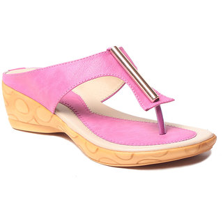 Msc WomenS-Pink-Synthetic-Heels (MSC-37-394-HEELS-PINK)