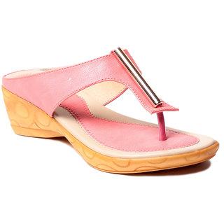 Msc WomenS-Peach-Synthetic-Heels (MSC-37-394-HEELS-PEACH)