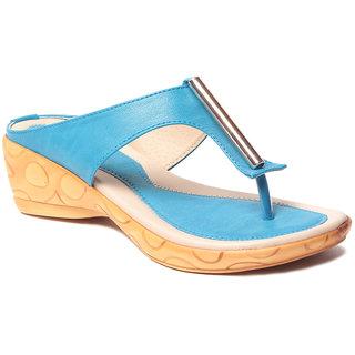 Msc WomenS-Turquoise-Synthetic-Heels (MSC-37-394-HEELS-TURQUOISE)
