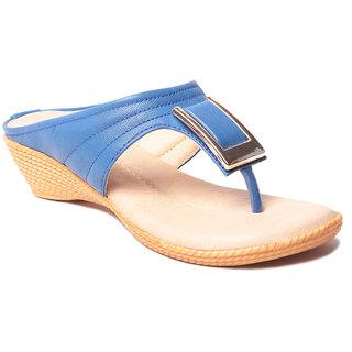 Msc WomenS-Blue-Synthetic-Heels (MSC-37-567-HEELS-BLUE)