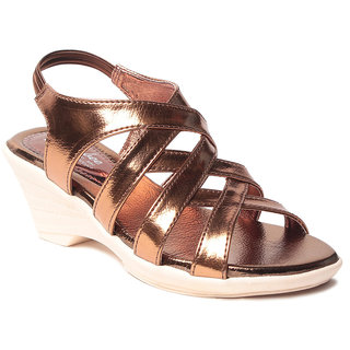 Msc WomenS-Copper-Synthetic-Wedges (MSC-259-1121-Wedges-COPPER)
