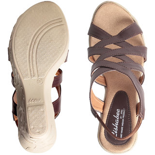 MSC Women's Brown Wedges