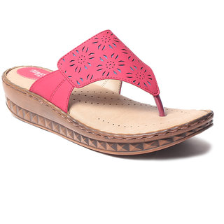 Msc WomenS-Red-Synthetic-Flats (MSC-21-7427-FLATS-RED)