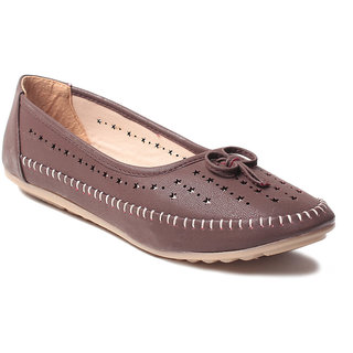 Msc WomenS-Brown-Synthetic-Bellies (MSC-90-4406-BELLIES-BROWN)