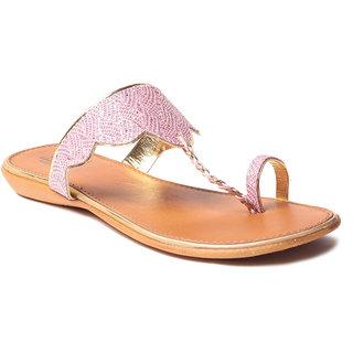Msc WomenS-Pink-Synthetic-Flats (MSC-9-242-FLATS-PINK)