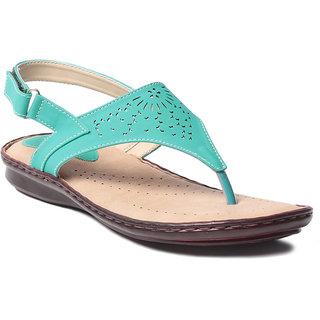 MSC Women's Green Sandals