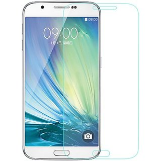 FUSION 10 Tempered Glass for SAMSUNG GALAXY A8 transparent