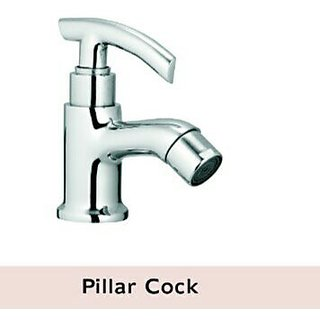PILLAR COCK (BRASS MATERIAL C.P CHROME)