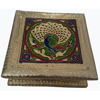 Meenakari Mukhwas Box / Dry Fruits Box 4 part