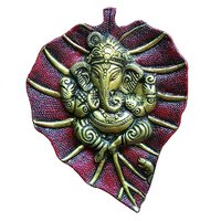 New Look Lord Ganesha With Leaves