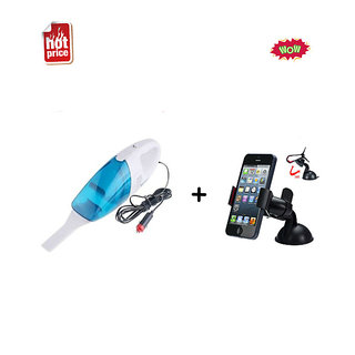 New Best Quality 12- V Portable Car Vaccum Cleaner Dry  Wet -Vacuum Cleaner With Car Universal Holder