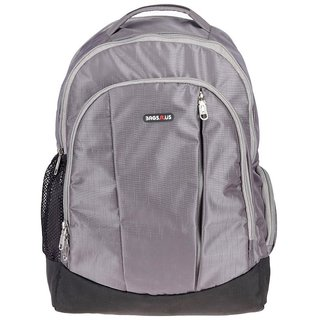 0aea64405fd1 Buy BagsRus Surge Grey Polyester 15 inches Laptop Backpack Online - Get 33%  Off