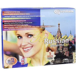 Eurotalk  Learn Russian Complete Set