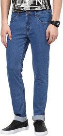 Super-X Blue Slim Fit Jeans For Men-abc116c