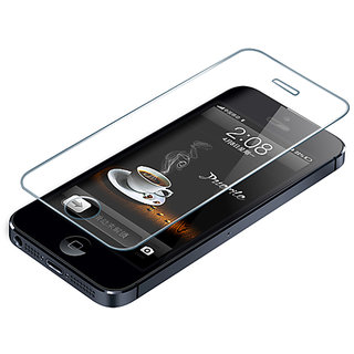 Apple i phone 5 5s tempered glass