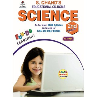 S.CHAND SCIENCE CD  FOR 2ND CLASS