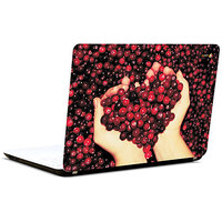 Pics And You Heart In Hand 3M/Avery Vinyl Laptop Skin Decal-Ab073