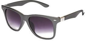 Vespl Uv Protected Grey  Purple Cat Eye Sunglass-V-6302