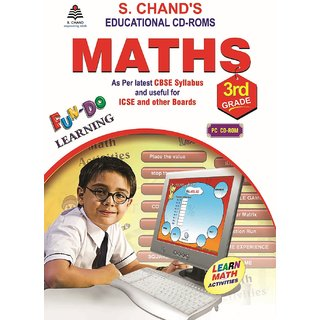 S.CHAND MATHS CD  FOR 3RD CLASS