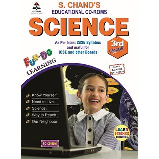 S.CHAND SCIENCE CD  FOR 3RD CLASS