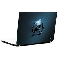 Pics And You Captain America Logo Classy 3M/Avery Vinyl Laptop Skin Decal-Sh077
