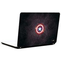 Pics And You Captain America Logo With Texture 3M/Avery Vinyl Laptop Skin Decal-Sh013