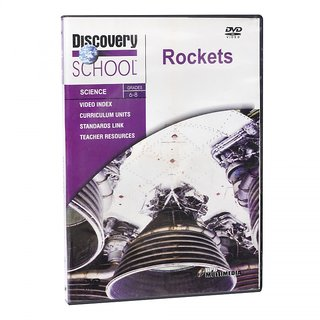 DISCOVERY CHANNEL  ROCKETS  DVD FOR 6-8 TH CLASS