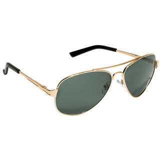5d21e1f30 Buy Vespl Uv Protected Uv Protected Golden Frame Black Avaiator Sunglass  V-9302 Online - Get 75% Off