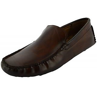 Okayy brown color  loafers